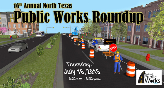 16th Annual Public Works Roundup Flyer