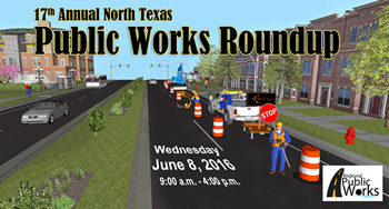 17th Annual Public Works Roundup Flyer