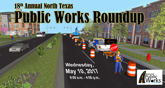 18th Annual Public Works Roundup Flyer