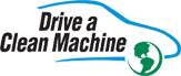 Graphic: Drive a Clean Machine logo